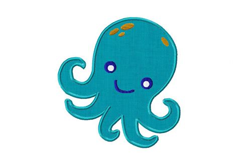 free applique downloads free octopus machine embroidery design includes both