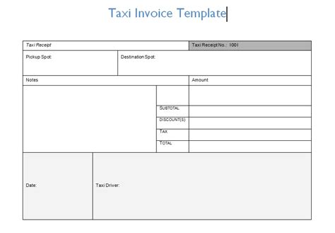 cab bill format toreto co