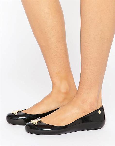 vivienne westwood flat shoes vivienne westwood anglomania black orb gloss