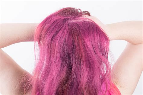 how to dye your hair with food coloring how to temporarily dye hair with food dye 13 steps