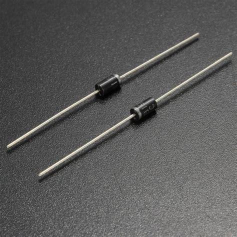 titanium silicon schottky barrier diodes 50pcs 1n5819 5819 1a 40v schottky barrier diode alex nld