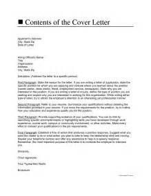 who to address a cover letter to contents of the cover letter cover letter address