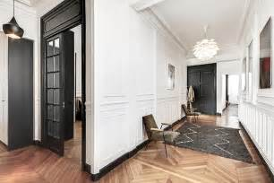 un appartement haussmannien moderne et design d 233 co