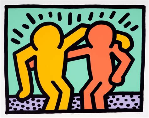 keith haring best buddies keith haring best buddies for sale artspace