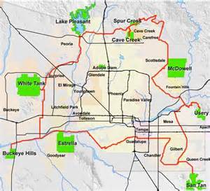 map of maricopa arizona new maricopa trail will connect county parks