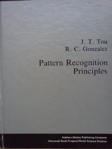 pattern recognition principles book biography of author r c gonzalez booking appearances