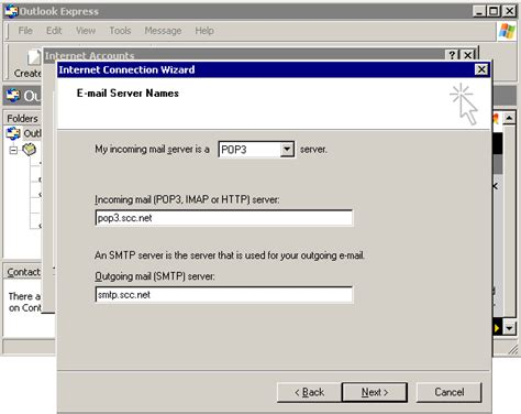 setup mail server on xp setting up outlook express 6 for windows xp