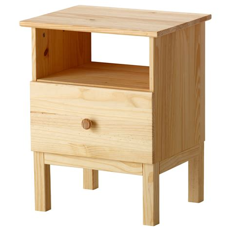 bed side table tarva bedside table pine 48x62 cm ikea