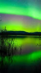 northern lights canada nature pinterest