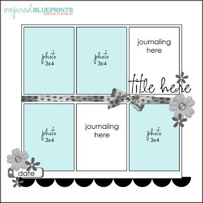 sketch album scrap top 8 ideas about scrapbook template on