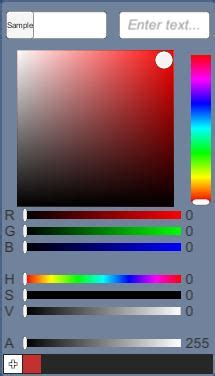color picker extension unityuiextensions unity ui extensions wiki controls