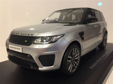 range rover sport silver land rover range rover sport svr indus silver kyosho ousia
