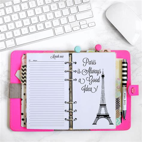 Galerry free printable yearly planner 2018