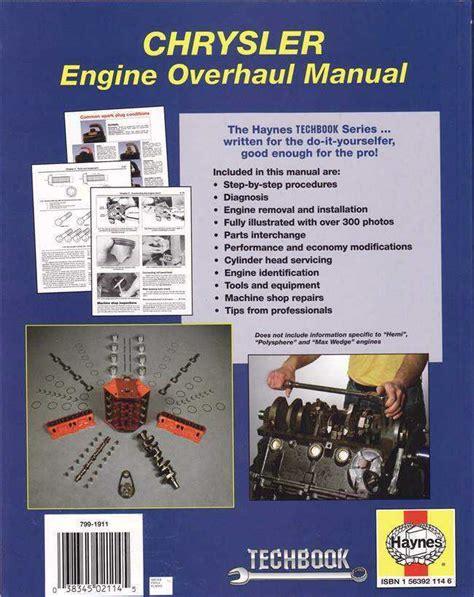 small engine repair manual sagin workshop car manuals repair books information australia chrysler engine overhaul manual sagin workshop car manuals repair books information australia