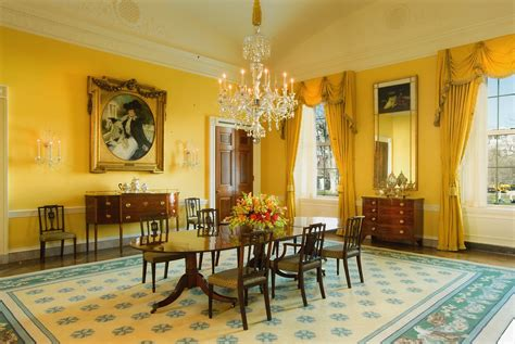 white house dining room the white house family dining room makeover popsugar home