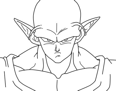Z Drawing Images by Piccolo Closeup Wip By Carapau On Deviantart