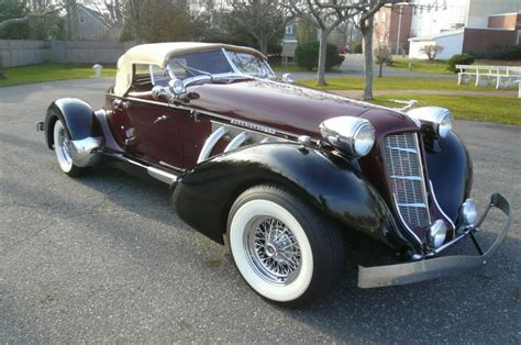 boat tail car for sale 1936 auburn boattail speedster replica ford powered for sale