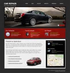 Car Html Template car repair free css html template templates