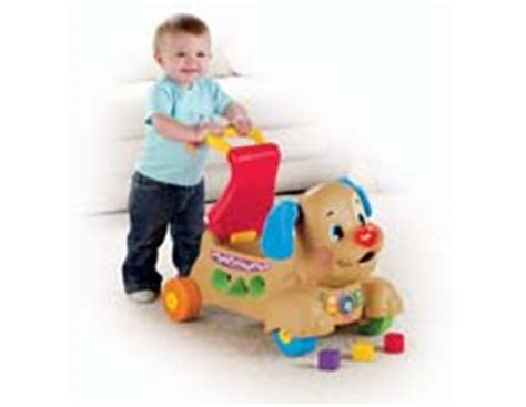 fisher price ride on puppy fisher price laugh learn stride to ride puppy toys