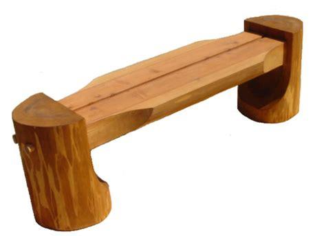 tree log bench log bench
