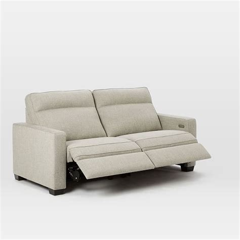 west elm reclining sofa recliner sofa bed laude run orlando manual motion