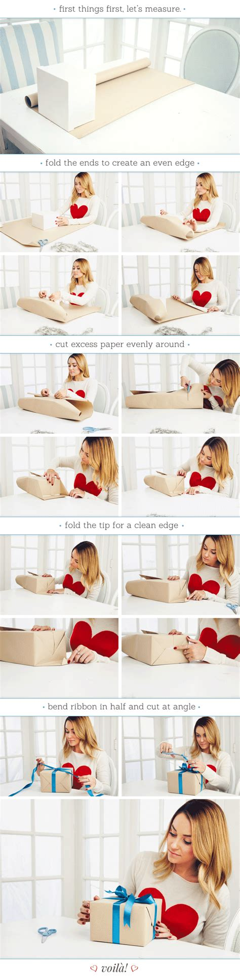 how to wrap a perfect present lauren conrad