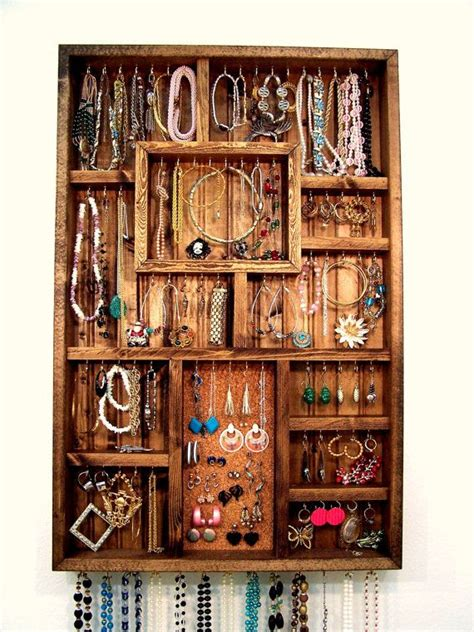organize all of your treasured pieces of jewelry in a