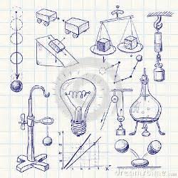 physics stock vector image 45852050