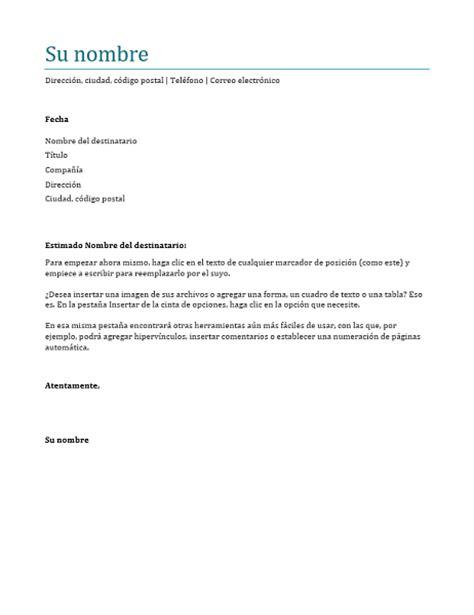 Plantilla Curriculum Carta De Presentacion Carta De Presentaci 243 N Azul Office Templates