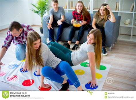 friends stock image image of pastime