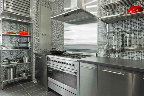 Top 25 Ideas To Spruce Up The Kitchen Decor In 2014 Qnud Stainless Steel Kitchen Designs