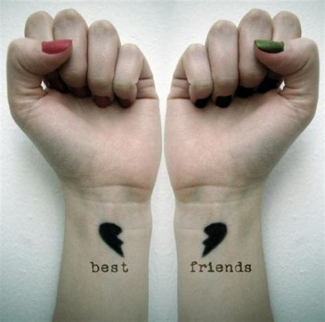 best friend heart tattoos designs 43 inspiring wrist tattoos and graphics inspirebee