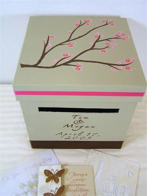 wedding reception card boxes custom wedding reception card box megan design