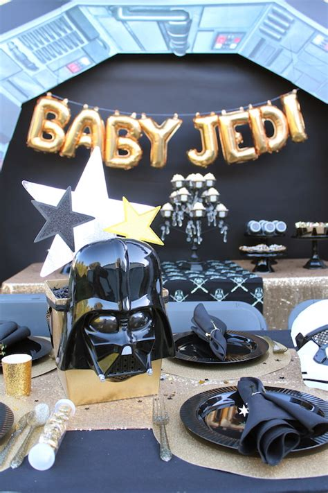 Wars Baby Shower Decorations by Host A Wars Baby Shower For Your Baby Jedi Shindigz