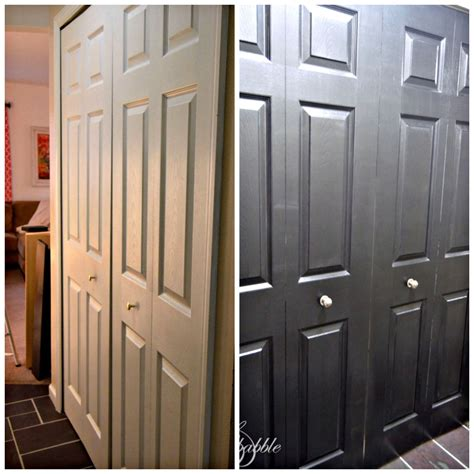 Black Closet Doors by Black Interior Doors Create And Babble