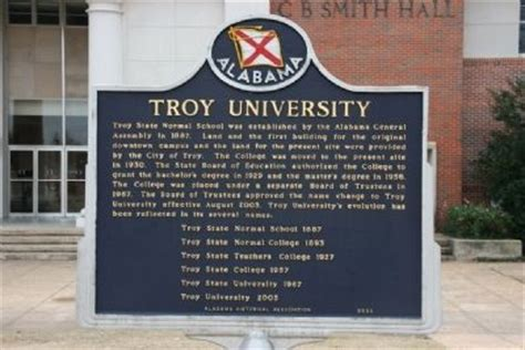 Troy Mba Accreditation by College Troy College Board