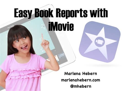 book reports to copy easy imovie book reports