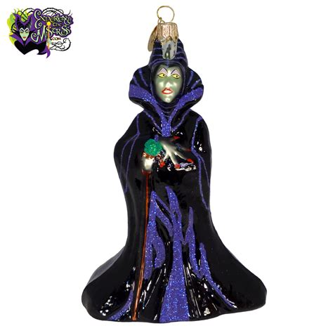 christopher radko disney parks disney villains blown glass