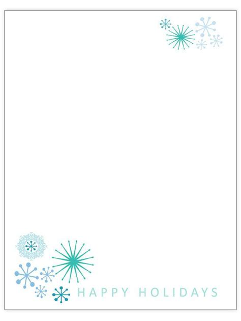42 Best Christmas Letter Printables Images On Pinterest Leaves Page Borders And Picture Frame Letter Template Border