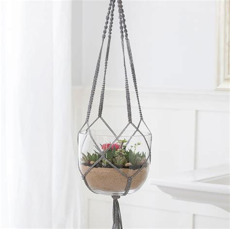 How To Make Plant Hangers Out Of Yarn - how to make plant hangers out of yarn 28 images how to