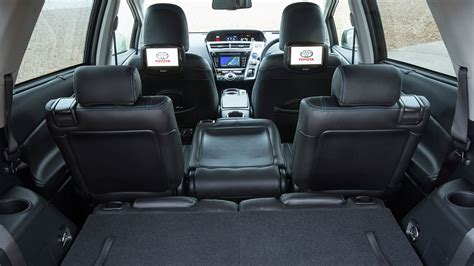 toyota prius leather seats uk toyota prius plus 2015 review by car magazine