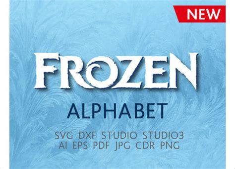 frozen font   psd ai vector eps format