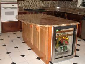 Kitchen Island With Granite Top by Handmade Kitchen Island With Winecooler And Granite