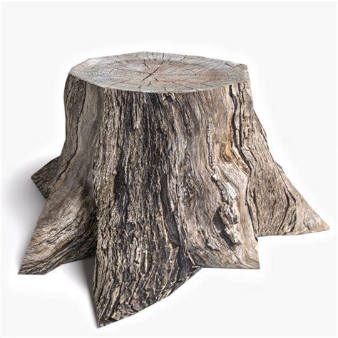 tree stump dead tree stump 3d model