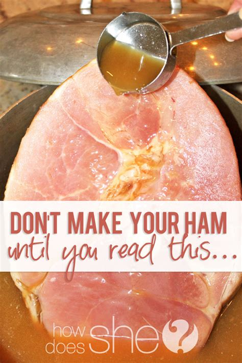 bone in baked ham recipe don t make ham until you read