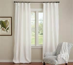 linen cotton drapes emery linen cotton curtain pottery barn au