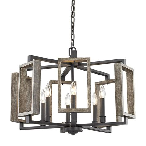 fifth and main lighting fifth and main lighting 6 light aged bronze pendant with