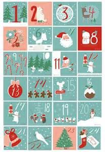 Free Printable Advent Calendar Template by Best Advent Calendars