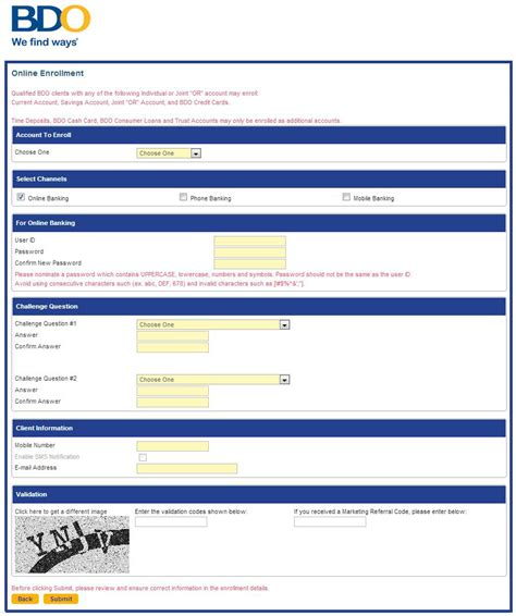 Credit Card Application Form Metrobank How To Get Credit Card In Bdo Infocard Co