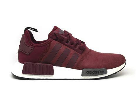 Adidas Nmd R1 Suede Burgundymaroon 1 adidas nmd r1 suede burgundy prstg shop
